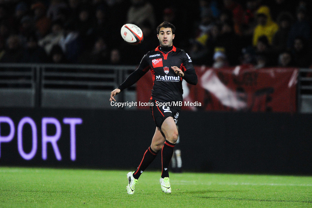 Jerome Porical - 28.12.2014 - Lyon Olympique / Clermont - 14eme journee de Top 14 <br />