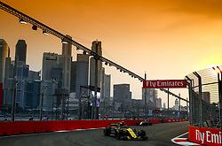 September 15, 2018 - Singapore, Singapore - Motorsports: FIA Formula One World Championship 2018, Grand Prix of Singapore, .#55 Carlos Sainz jr. (ESP, Renault Sport Formula One Team) (Credit Image: © Hoch Zwei via ZUMA Wire)