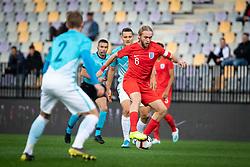 Thomas Davies of England during friendly Football match between U21 national teams of Slovenia and England, on October 11, 2019 in Ljudski Vrt, Maribor, Slovenia. Photo by Blaž Weindorfer / Sportida
