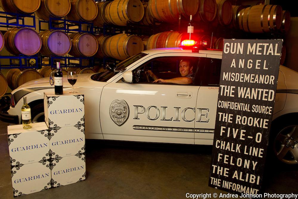 Jerry Riener, owner & winemaker, Guardian Cellars, Woodinville, Washington