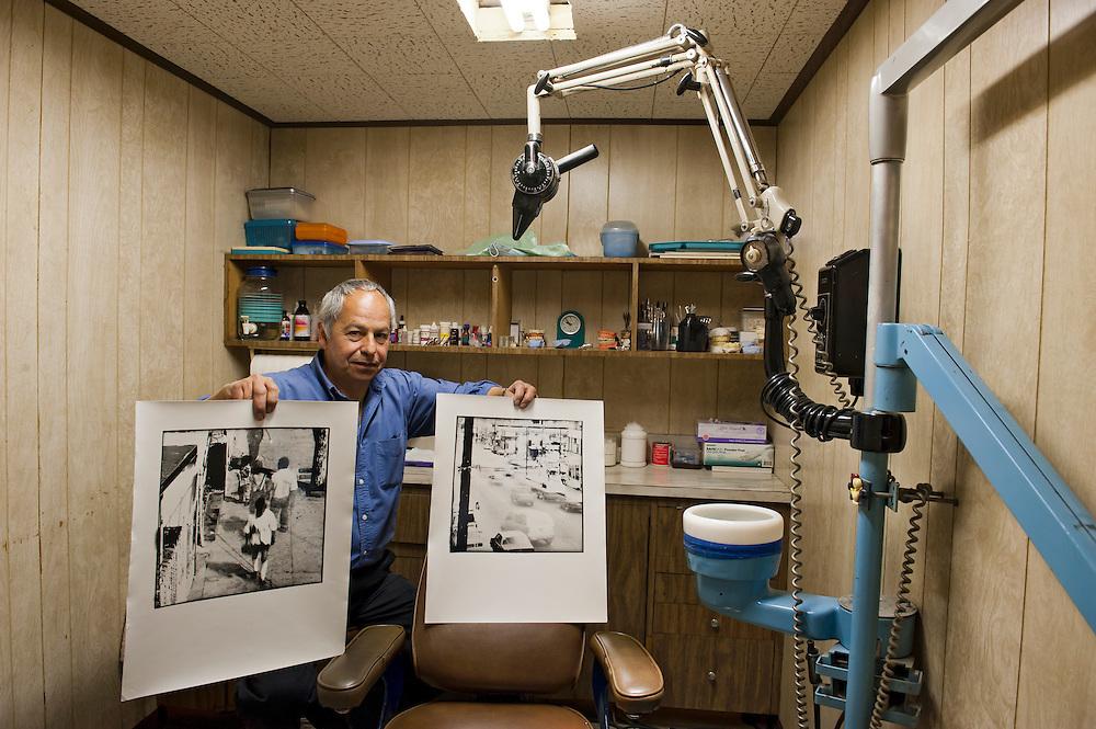 Dr. Javier Galavis, dentist and photo artist, Tijuana. ...@ Stefan Falke.http://www.stefanfalke.com/...@ Stefan Falke.http://www.stefanfalke.com/.