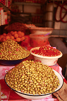 Morocco --- Bowls of Olives --- Image by © Owen Franken/Corbis
