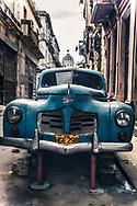 Vintage Antique Classic 1950s Car in Havana Cuba