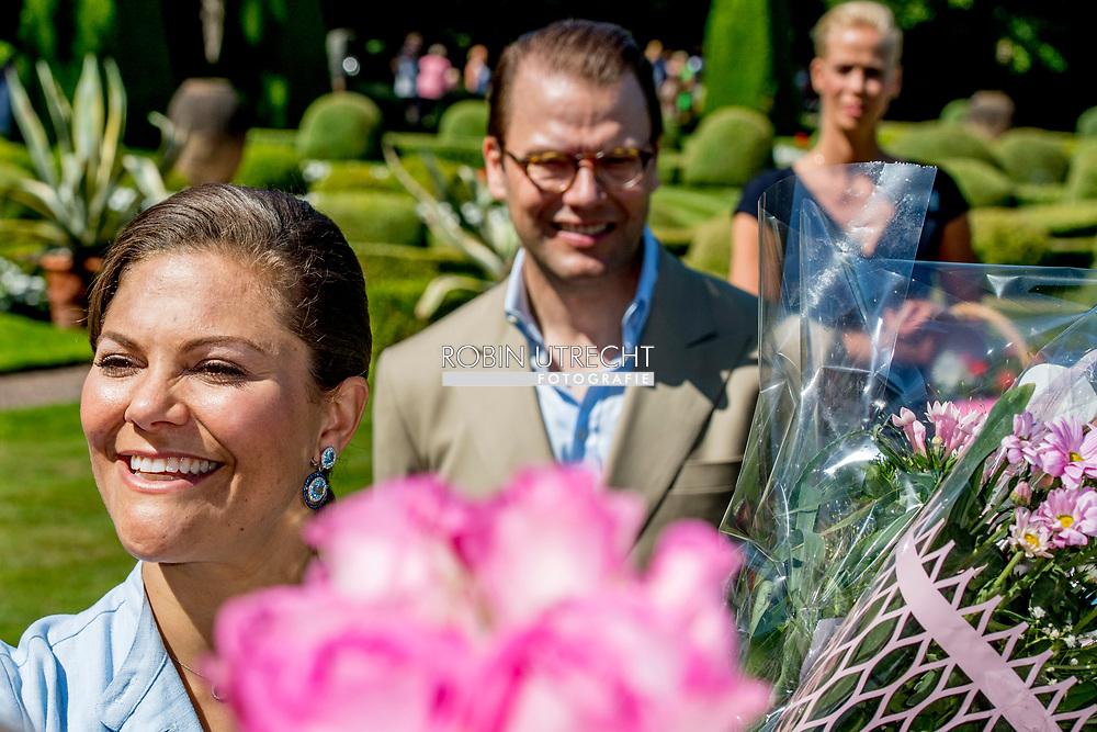 15-7-2017 - SOLLIDEN - The King Carl Gustaf  , The Queen Sofia  , The Crown Princess Victoria, Prince Daniel princess Estelle and Prince Oscar Crown Princess Victoria's birthday 40 celebrations of Crown Princess Victoria's 40th birthday, Borgholm, Sweden 15 July 2017. <br /> <br /> 15-7-2017 - SOLLIDEN - De Koning Carl Gustaf, De Koningin Sofia, De Kroonprinses Victoria, Prins Daniel Prinses Estelle en Prins Oscar Kronprinses Victoria's Verjaardag 40 Feestdagen van de 40ste Verjaardag van de Prinses Victoria Victoria, 15 juli 2017. copyright Robin utrecht zweden
