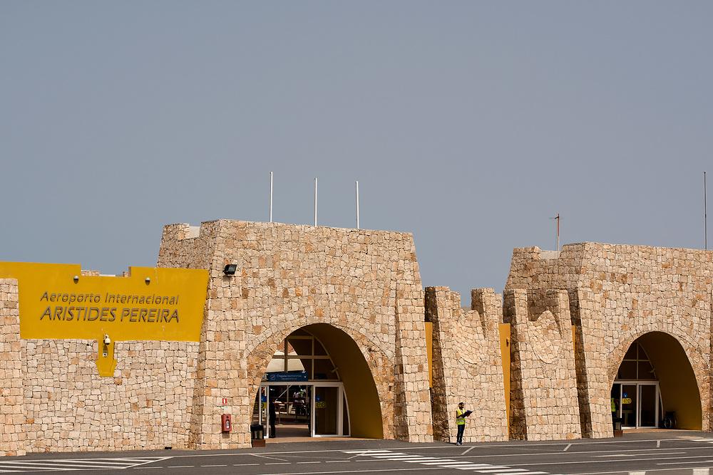 Airport of Boa Vista.Aéroport de Boa Vista.