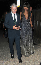 Naomi Campbell attends The Serpentine Gallery Summer Party. London, UK. 06/07/2016<br />BYLINE MUST READ : GOTCHAIMAGES.COM<br /><br />Copyright by © Gotcha Images Ltd. All rights reserved.<br />Usage of this image is conditional upon the acceptance <br />of Gotcha Images Ltd, terms and conditions available at<br />www.gotchaimages.com