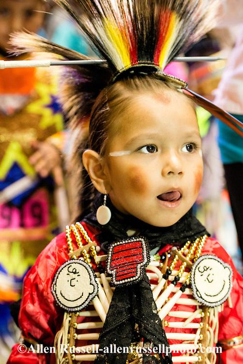 Gathering Of Nations Pow Wow Shawnee Kiowa Boy Traditional