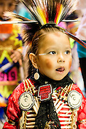 Gathering of Nations Pow Wow, Shawnee Kiowa, boy, kids, Traditional Dancer, Albuquerque, New Mexico