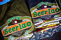 Beer Lao. The national beverage of Laos.