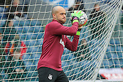 West Ham United goalkeeper Darren Randolph  during the The FA Cup match between Blackburn Rovers and West Ham United at Ewood Park, Blackburn, England on 21 February 2016. Photo by Simon Davies.