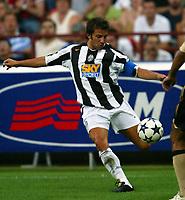 Milano 27/7/2004 Trofeo Tim - Tim tournament <br /> <br /> <br /> <br /> Alessandro Del Piero Juventus<br /> <br /> <br /> <br /> Inter Milan Juventus <br /> <br /> Inter - Juventus 1-0<br /> <br /> Milan - Juventus 2-0<br /> <br /> Inter - Milan 5-4 d.cr - penalt.<br /> <br /> <br /> <br /> Photo Andrea Staccioli Graffiti