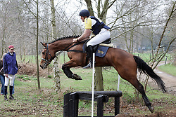 De Dycker Rudi - Bandina van de Zuuthoeve<br /> Nationaal kampioenschap eventing LRV <br /> Lummen 2006<br /> Photo &copy; Hippo Foto