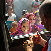 Clowns bring hope and joy to Iraq's displaced children
