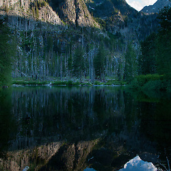 Eight Mile Lake, Alpine Lakes Wilderness, Mt. Baker-Snoqualmie National Forest, Washington, US