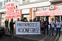 April 30, 2017 - Berlin, Berlin, Germany - About 2,500 people participate in the demonstration under the motto 'Organize! Self-organized against racism and social exclusion' in Berlins district Wedding. The Organizers criticize rising rents, racist police checks and lack of opportunities and places for alternative lifestyles. The demonstration took place under a massive police presence. (Credit Image: © Jan Scheunert via ZUMA Wire)