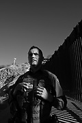 Nogales, Arizona, USA; 29th, November, 2016; U.S. Border Patrol agent, Vicente Paco, speaks about the work of agents along the international border with Mexico in Nogales, Arizona, USA, on November 29, 2016.  (PHOTO: Norma Jean Gargasz)