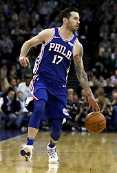 Philadelphia 76ers' JJ Redick during the NBA London Game 2018 at the O2 Arena, London. PRESS ASSOCIATION Photo. Picture date: Thursday January 11, 2018. See PA story BASKETBALL London. Photo credit should read: Simon Cooper/PA Wire. RESTRICTIONS: Editorial use only, No commercial use without prior permission
