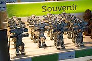 Pottery fertility phallic clay souvenir models, Lanzarote, Spain