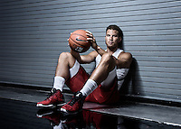 NBA All-Star Blake Griffin of the Los Angeles Clippers during a photoshoot on Monday August 24th, 2015 in Los Angeles CA at the Clippers practice facility.
