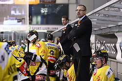 11.01.2013, Hala Tivoli, Ljubljana, SLO, EBEL, HDD Olimpija Ljubljana vs UPC Vienna Capitals, 40. Runde, im Bild Tommy Samuelsson, head coach of UPC Vienna Capitals // during the Erste Bank Icehockey League 40th Round match between HDD Olimpija Ljubljana and UPC Vienna Capitals at the Hala Tivoli, Ljubljana, Slovenia on 2013/01/11. EXPA Pictures © 2013, PhotoCredit: EXPA/ Sportida/ Matic Klansek Velej..***** ATTENTION - OUT OF SLO *****