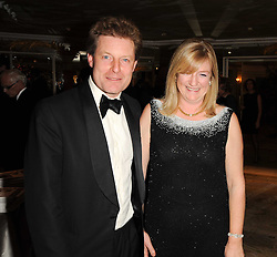The HON.PETER STANLEY and his wif FRANCES at the 20th annual Cartier Racing Awards - the most prestigious award ceremony within European horseracing, held at The Dorchester Hotel, Park Lane, London on 16th November 2010.