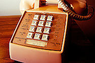 Telephone at the Point Motel, Stevens Point, WI.