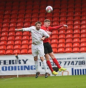 Tayport (red) beat North End (white) 4-1 in the GA Engineering Cup Final at Tannadice<br /> <br />  - &copy; David Young - www.davidyoungphoto.co.uk - email: davidyoungphoto@gmail.com