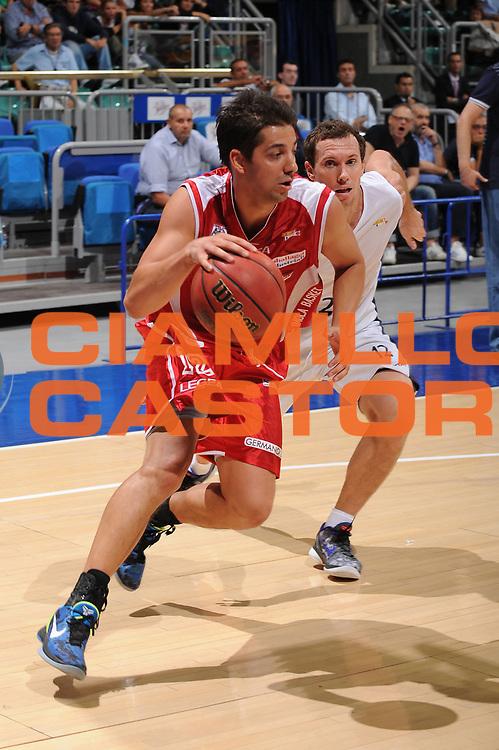 DESCRIZIONE : Bologna Lega Basket A2 2011-12 Ottavi di Finale Coppa Italia Biancoblu Basket Bologna Aget Imola<br /> GIOCATORE : Patricio Prato<br /> CATEGORIA : palleggio<br /> SQUADRA : Aget Imola <br /> VENTO : Campionato Lega A2 2011-2012<br /> GARA : Biancoblu Basket Bologna Aget Imola<br /> DATA : 21/09/2011<br /> SPORT : Pallacanestro <br /> AUTORE : Agenzia Ciamillo-Castoria/M.Marchi<br /> Galleria : Lega Basket A2 2011-2012 <br /> Fotonotizia : Bologna Lega Basket A2 2011-12 Ottavi di Finale Coppa Italia Biancoblu Basket Bologna Aget Imola <br /> Predefinita :