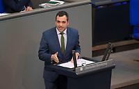 DEU, Deutschland, Germany, Berlin, 01.02.2018: Konstantin Kuhle (FDP) bei einer Rede im Deutschen Bundestag.