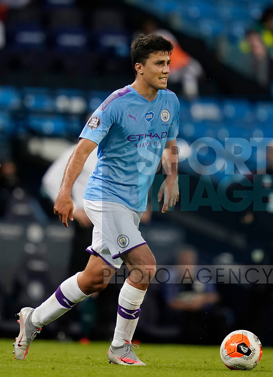 Rodrigo of Manchester City during the Premier League match at the Etihad Stadium, Manchester. Picture date: 22nd February 2020. Picture credit should read: Andrew Yates/Sportimage