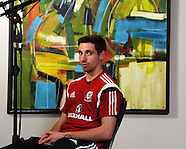 141113 Wales football player media session