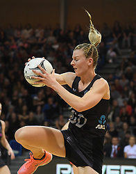 New Zealand's Katrina Grant against England in the Taini Jamison Trophy netball series match at Te Rauparaha Arena, Porirua, New Zealand, Thursday, September 07, 2017. Credit:SNPA / Ross Setford  **NO ARCHIVING**