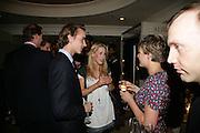 James Byrom, Emily Lopes and Rosalie Barkes, New Collectors Evening. Grosvenor House Antiques Fair. Park Lane. 19 June 2007.  -DO NOT ARCHIVE-© Copyright Photograph by Dafydd Jones. 248 Clapham Rd. London SW9 0PZ. Tel 0207 820 0771. www.dafjones.com.