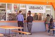 People Ordering Food at Urbanos Guisados Restaurant in El Monte