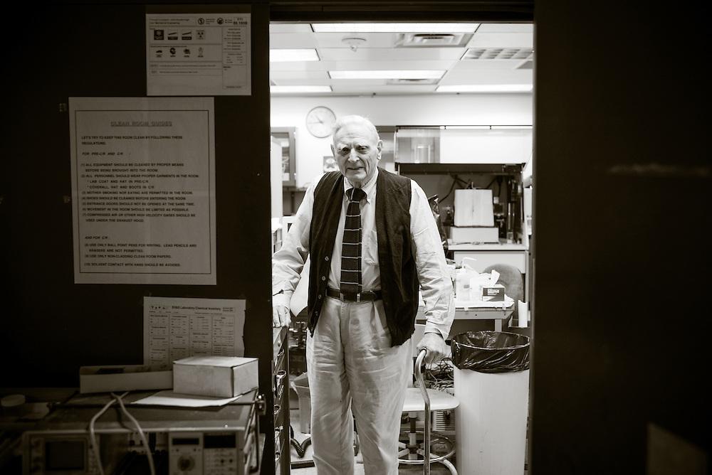 John Goodenough, PhD, photographed in Austin, Texas on January 8, 2015. Photograph © 2015 Darren Carroll.