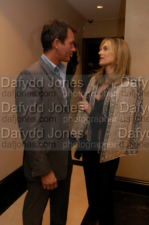 Tim Jefferies and Kim Hersov. Candy & Candy. Apartment launch party Fifth Floor, 17-22 Trevor Square Tim Jefferies<br />