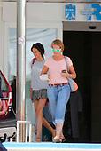 Princess Elena Leaves Hospital after Fall