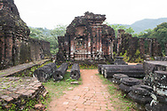 Cham Temple ruins in Group B at the My Son Sanctuary, Quang Nam Province, Vietnam, Southeast Asia