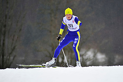 BATMUNKH Ganbold, MGL at the 2014 IPC Nordic Skiing World Cup Finals - Long Distance