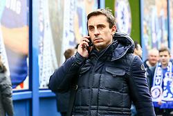 England Manager Gary Neville arrives at Stamford Bridge ahead of todays match - Mandatory by-line: Jason Brown/JMP - 04/01/2017 - FOOTBALL - Stamford Bridge - London, England - Chelsea v Arsenal - Premier League