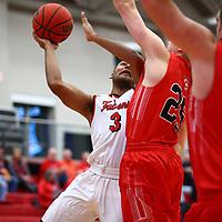Men's Basketball: University of Wisconsin-River Falls Falcons vs. Carthage College Redmen