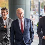 NLD/Amsterdam/20171014 - Besloten erdenkingsdienst overleden burgemeester Eberhard van der Laan, Cornald Maas, Andre van Duin en partner Martin Elferink