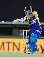 CENTURION, SOUTH AFRICA - 9  January 2009, Henry Davids batting during the MTN Domestic Championship Semi Final match between The Nashua Titans and The Nashua Cape Cobras held at SuperSport Park, Centurion, South Africa..Photo by Barry Aldworth/SPORTZPICS