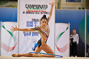 Alexandra Agiurgiuculese from Udinese team during the Italian Rhythmic Gymnastics Championship in Padova, 25 November 2017.