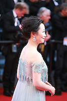 Zhao Tao at the Palme d'Or  Closing Awards Ceremony red carpet at the 67th Cannes Film Festival France. Saturday 24th May 2014 in Cannes Film Festival, France.