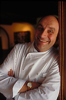 Bernard Loiseau at his Hotel-Restaurant C(TM)te d'Or, Saulieu, Burgundy, 1998.© Owen Franken