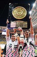 Alexandre FLANQUART / Raphael LAKAFIA  - 16.05.2015 - Clermont / Stade Francais - Finale Top 14<br />Photo : Nolwenn Le Gouic / Icon Sport