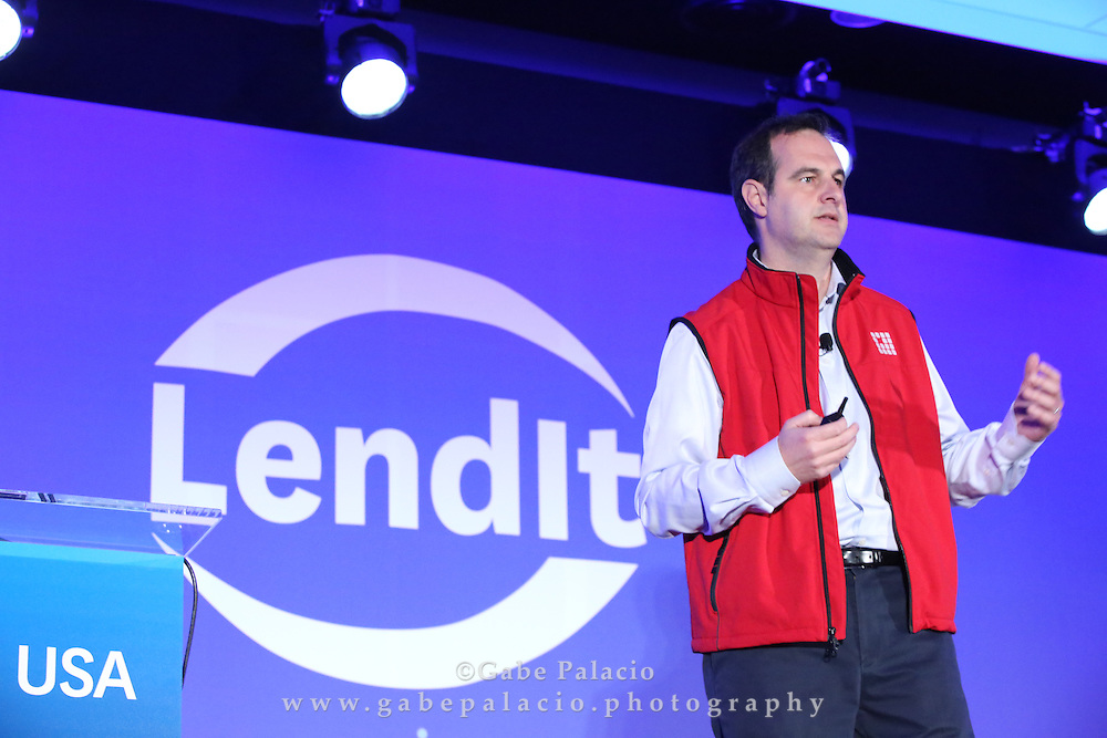 LendIt USA 2016 conference in San Francisco, California, USA on April 10, 2016. (photo by Evans Vestal Ward)