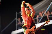 Avenged Sevenfold performing at Carolina Rebellion at Metrolina Expo in Charlotte, NC on May 7, 2011