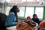 Aylesbury Everywoman's Centre on the Aylesbury Estate, London, UK. Most of the estate, one of Europe's largest, is due to be demolished soon. It houses a disproportionate number of poor people and immigrants.